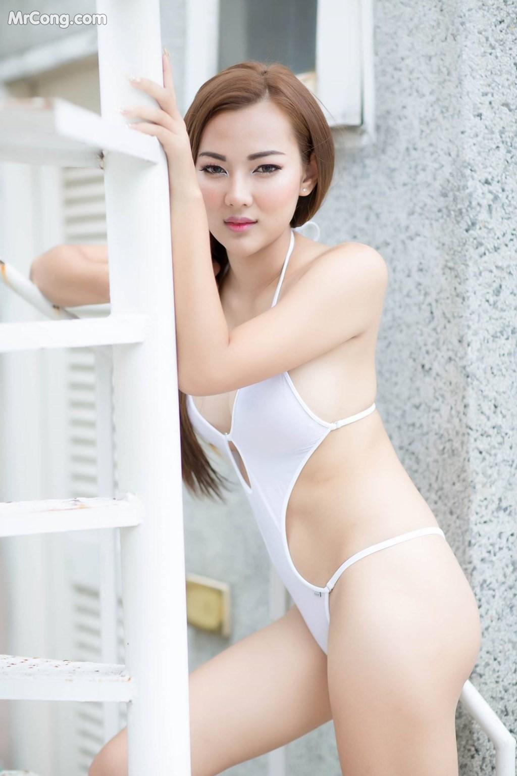 Image Thai-Model-No.225-MrCong.com-010 in post Thai Model No.225: Người mẫu หมวยเล็ก โดนัท (23 ảnh)