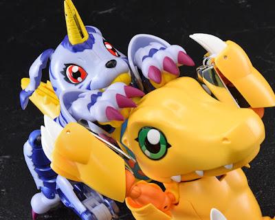 Digivolving Spirits Metalgarurumon / Gabumon de Digimon Adventure - Tamashii Nations