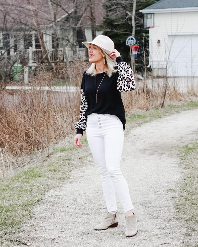 how ot wear leopard print
