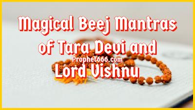 Most Powerful Beej Mantras of Tara Devi and Lord Vishnu