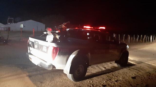 Polícia Militar troca tiros com bandidos e conseguem recuperar carro roubado, no sertão da PB