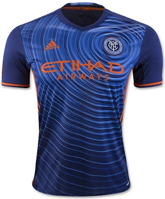 Jersey GO New York City FC Adidas Navy 2016-2017