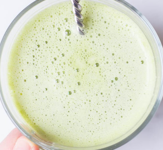 Vanilla Matcha Green Tea Latte #drinks #copycat