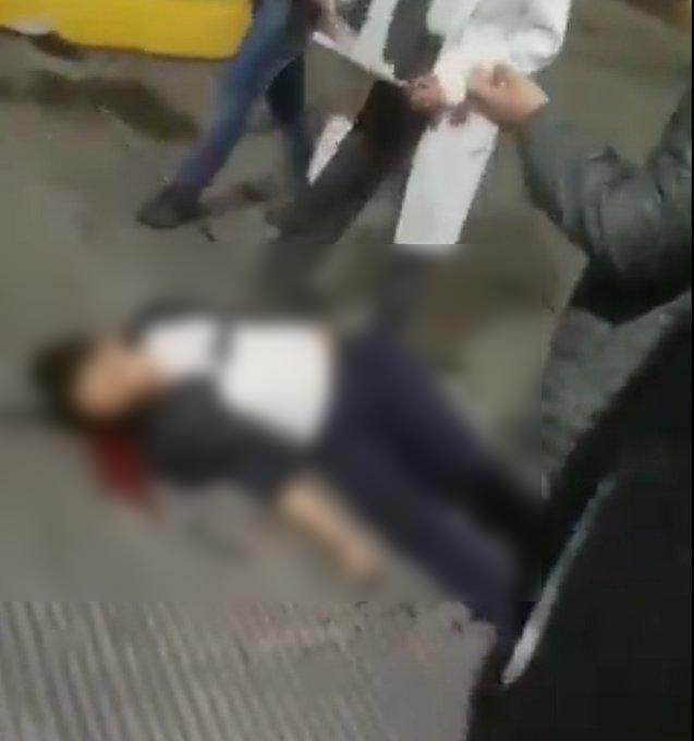"""Vídeo; Su padre le llamo, le dijo que su madre estaba grave, dijo """"¡Voy a alcanzarla!"""" y se suicido de un disparo en la sien"""
