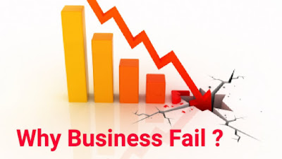 Best reasons why business fail