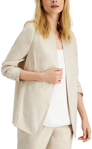 Linen Blazers For Women