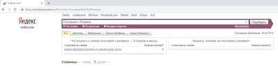 Статистика запросов в Яндексе послания к Ризвану к 16 апреля 2019