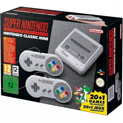 Super Nintendo clásico mini SNES
