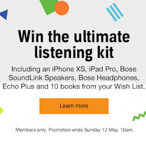 Competition: The Audible Listening Bundle Comp returns!