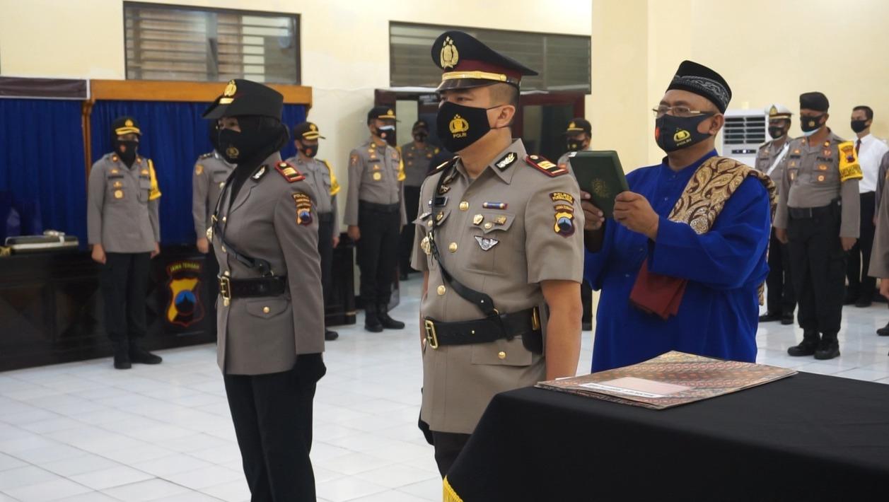 Jabatan Kasat Lantas Polres Purbalingga Resmi Diserahterimakan