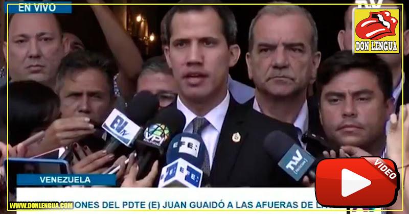 Presidente Guaidó informó que el régimen es una Dictadura Asesina