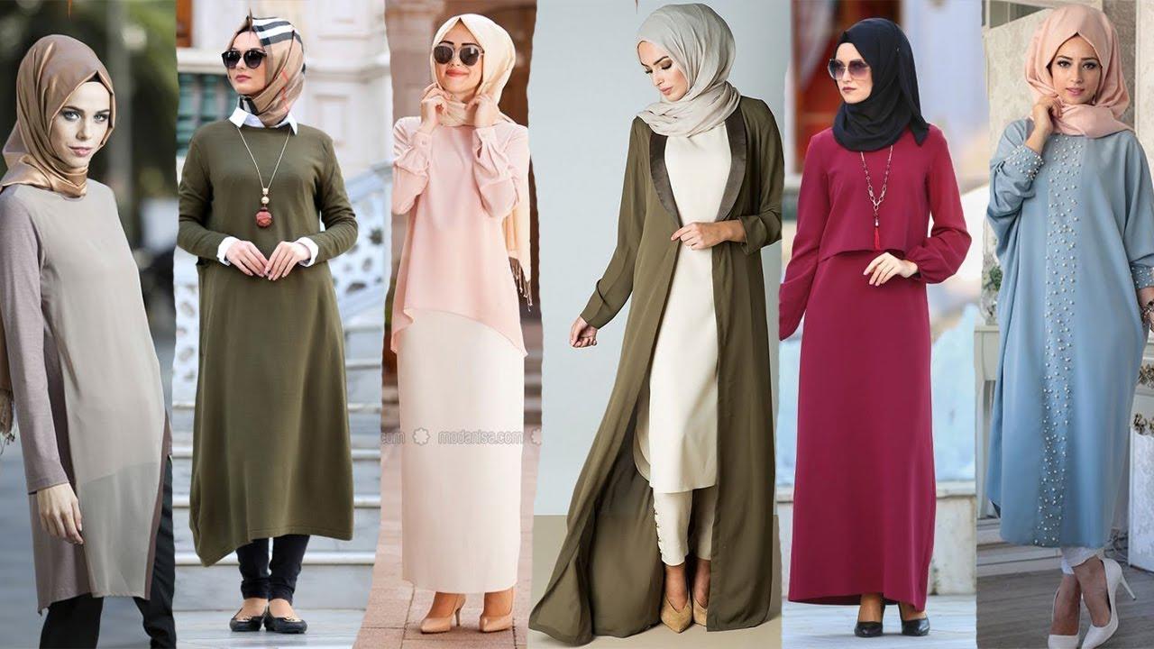 ملابس أساسية للمحجبات لموضة شتاء 2020