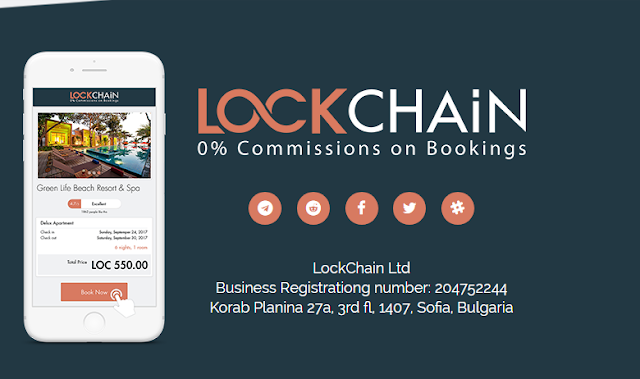 Lockchain - Platform Pemesanan Hotel dan Sewa Properti Dengan Komisi 0%