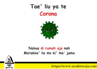 Kata-kata Toraja Lucu Tentang Corona