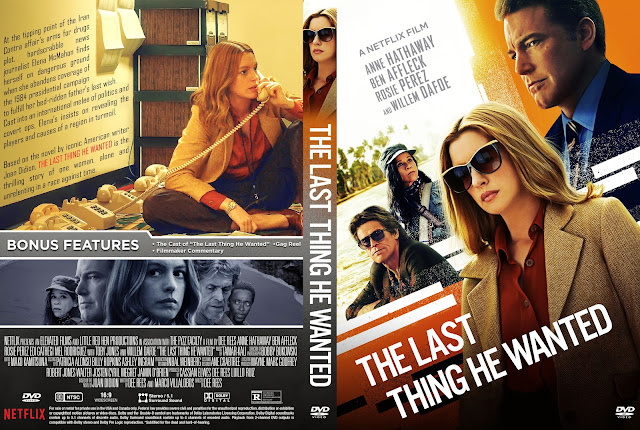 The Last Thing He Wanted DVD Cover