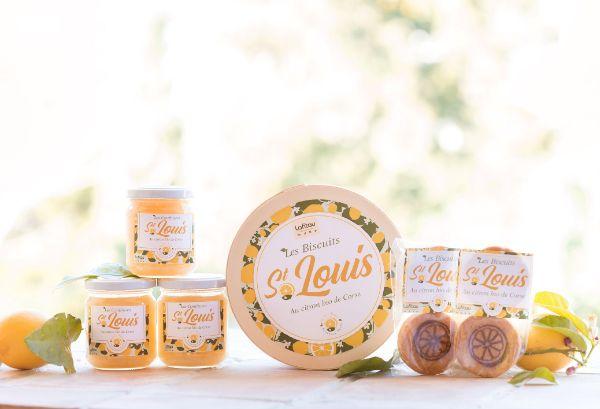 Confiseries et biscuits Saint-Louis par Lafitau