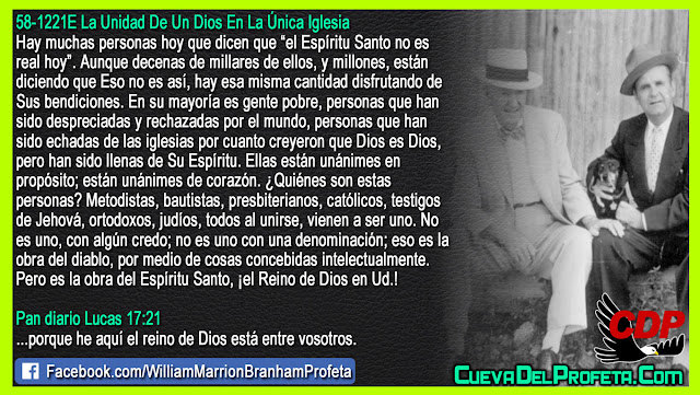Pobres, despreciados, rechazados pero gozando sus bendiciones - William Branham en Español