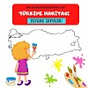 Türkiye Haritası Boyama Sayfaları/Okul Öncesi Ve 1.Sınıf