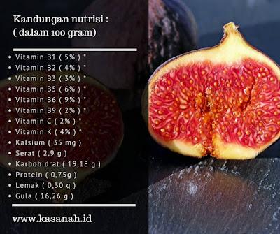 berbagai manfaat buah tin