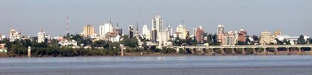 Foto panorâmica de Uruguaiana – RS