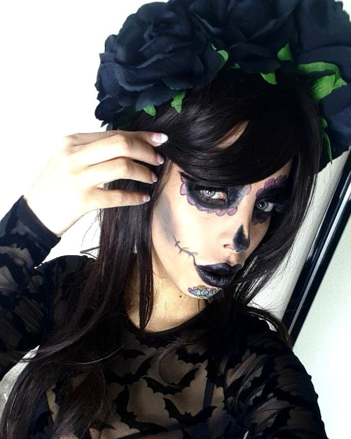 HALLOWEEN OUTFIT AND MAKEUP WITH BOOHOO