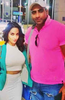 Nora Fatehi With Varinder Ghuman