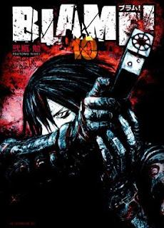 BLAME!+colección+manga+español+cover+art