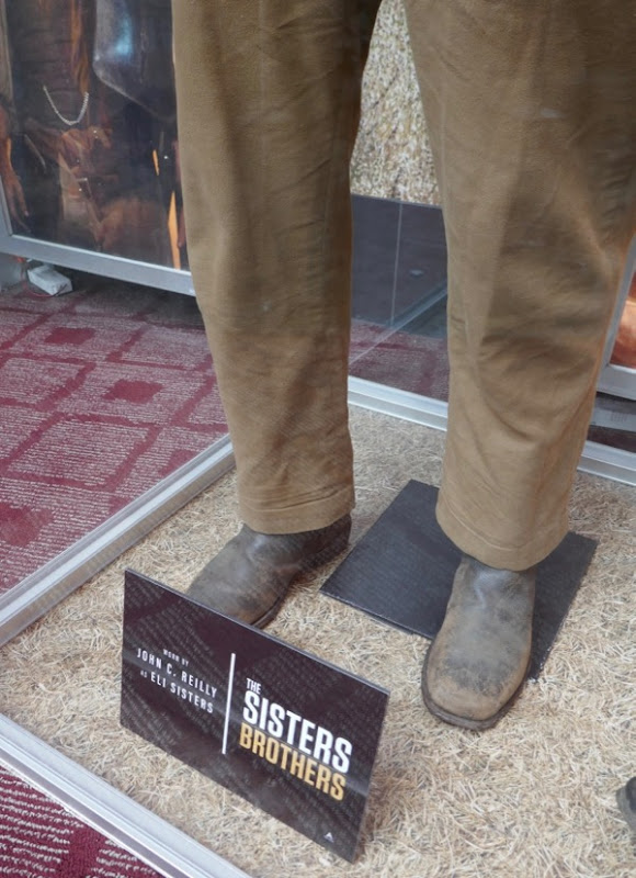 Sisters Brothers Eli costume shoes