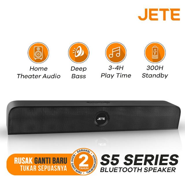 Speaker Soundbar JETE Mini S5