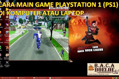 Cara main Game Playstation 1 PS1 atau PSX di Komputer PC Laptop atau Smartphone Tablet