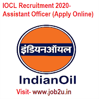 IOCL Recruitment 2020, Assistant Officer (Apply Online)