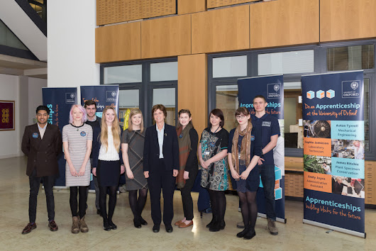 National Apprenticeship Week 2016 - Round Up  - University of Oxford Apprentices