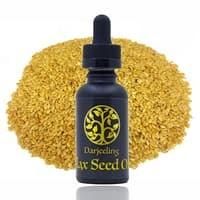 30ml Flax Seed Oil 100% Murni | Minyak Biji Flaxseed Carrier Oil