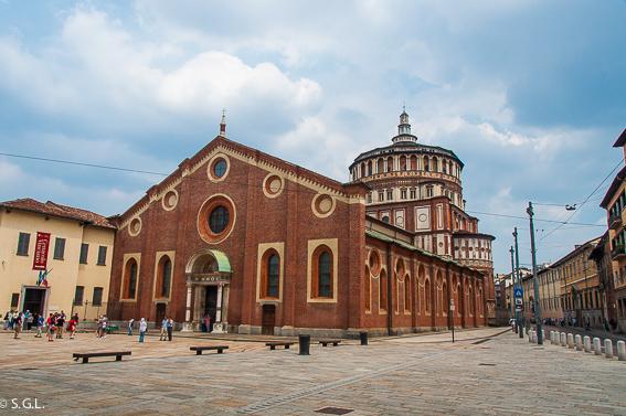 Santa Maria delle Grazie. Milan