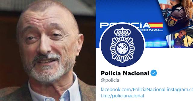 Pérez Reverte polémica con la Policía.