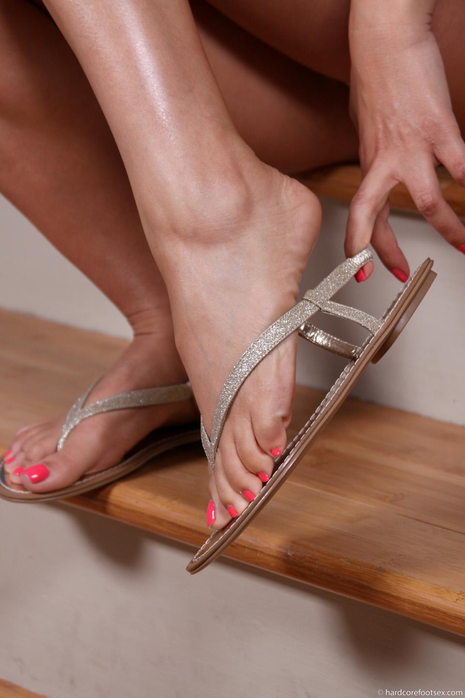 hardcore foot sex