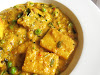 Paneer and Pea Curry Smothered in a Cashew Tomato Gravy