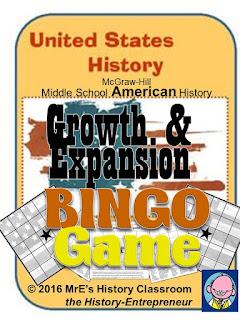https://www.teacherspayteachers.com/Product/McGraw-Hill-AMERICAN-HISTORY-Growth-ExpansionBINGO-game-2604525