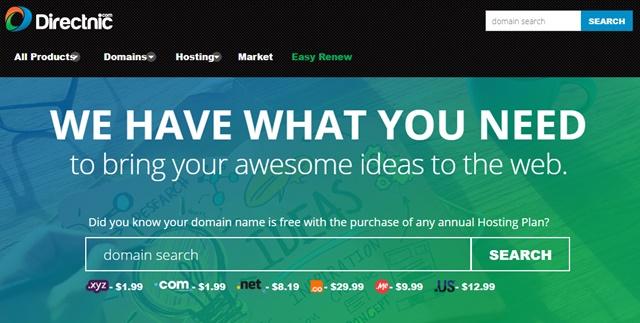 Domain Murah .COM di Directnic - directnic.com