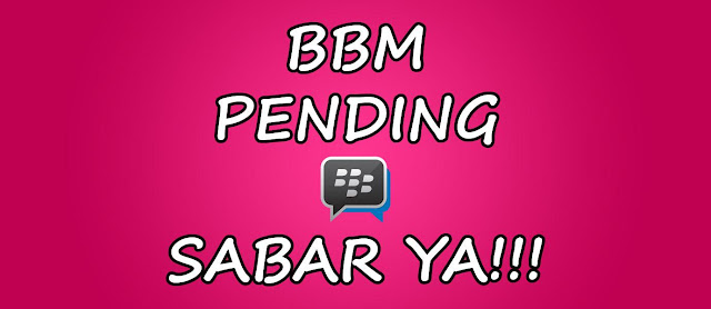 BBM Pending
