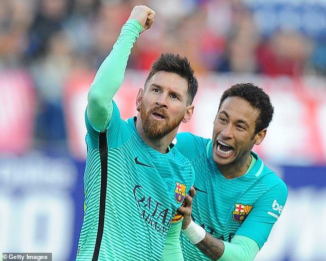 Barca sẽ mua 2 ngôi sao tấn công để thay Messi