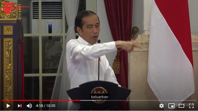 Jokowi Marah-marah Akhirnya Dirilis Setelah Diperam 10 Hari
