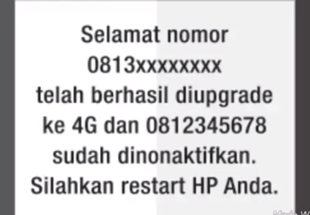 LANGKAH KEEMPAT Upgrade Kartu 3G ke 4G Telkomsel 2019