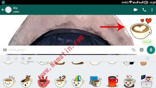 stiker whatsapp tidak muncul