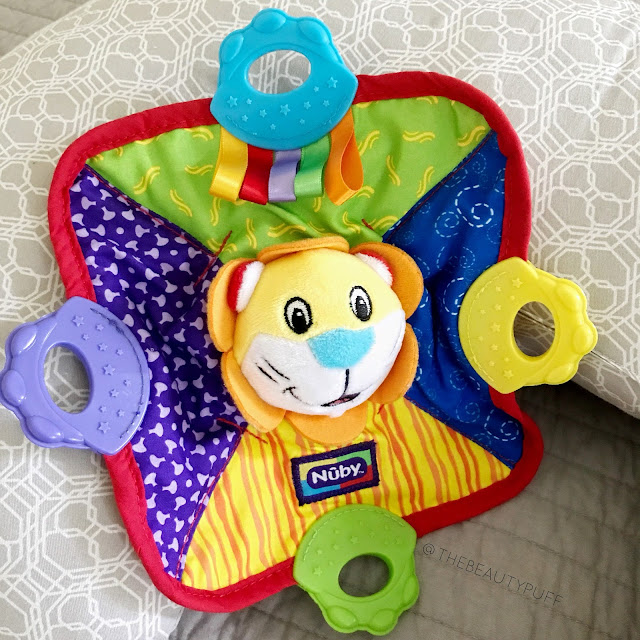 Nuby Teething Blankie  |  The Beauty Puff