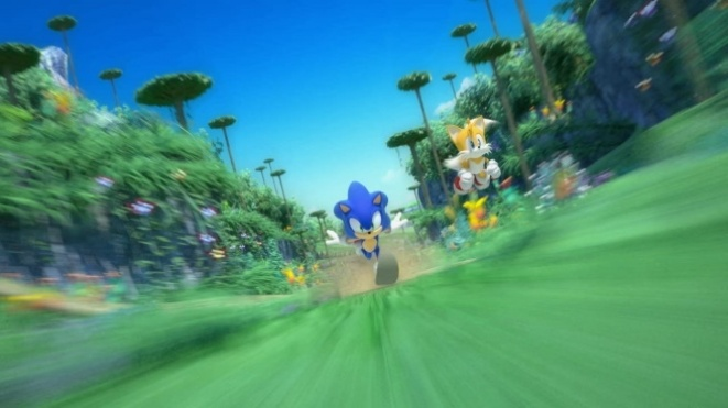 Sonic finally arrive on the PC
