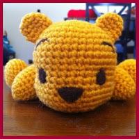 Mini Winnie the Pooh amigurumi