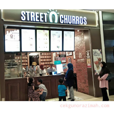 cerita review, ioi city mall, street churros, tempat sarapan best di ioi city mall, ioi city mall putrajaya
