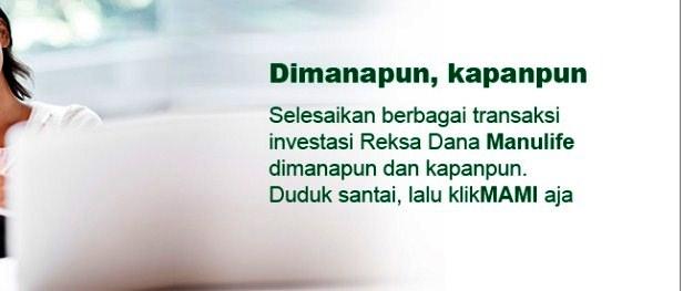 Investasi Reksa Dana Bulanan Manulife