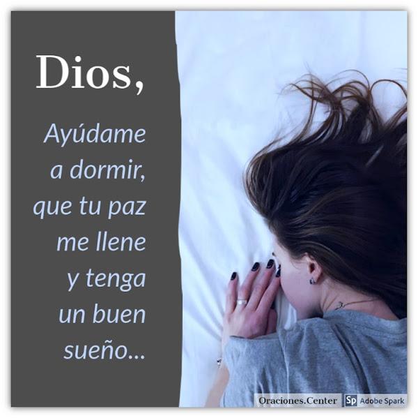 Oración para Dormir Profundamente